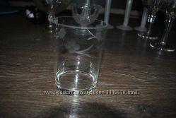 Стаканы для сока или напитка 2 шт с напылением
