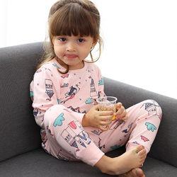 Пижамы детские для девочки. Эксклюзивные рисунки