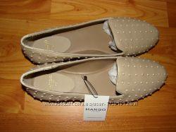 Новые балетки туфли mango mng размер 40