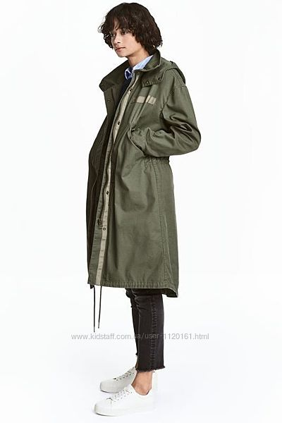 Новая куртка парка утепленная H&M