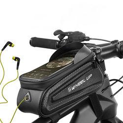 Велосумка для смартфона 7 на раму, вело сумка для телефона Wheel Up