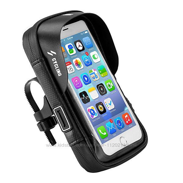 Велосумка для смартфона 6 на раму Cycling  Циклин , вело сумка для телеф