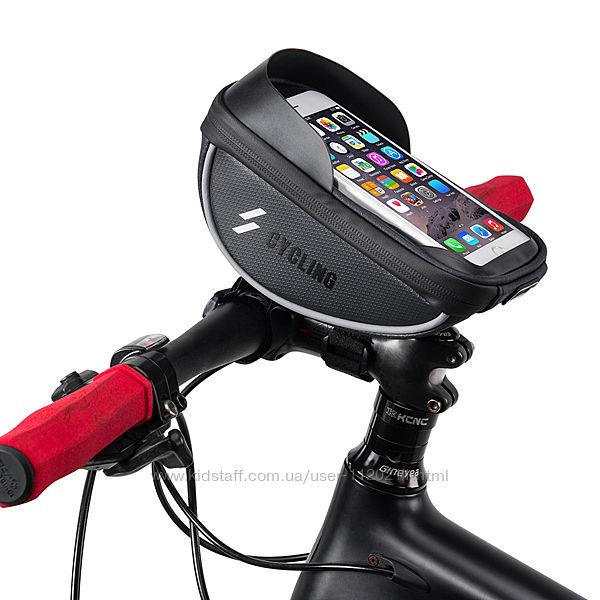 Велосумка для смартфона 6,5 на руль Cycling  Циклин , вело сумка для тел