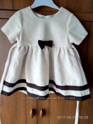 Платье на девочку теплое