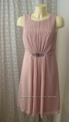 Платье коктейльное красивое миди Esprit р. 46 7569