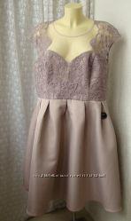 Платье вечернее батальное Chi Chi р. 56 7638