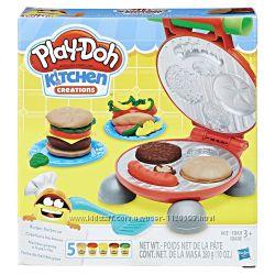 Play-Doh, Бургер гриль, Burger Barbecue Toy