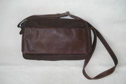 David jones оригинал кожаная сумка-кроссбоди- кожа, текстил