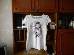 Tom tailor-l/ xl- шикарная фирменная котоновая футболка