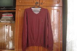 Xxl мужской фирменный теплый свитер -100 baumwolle