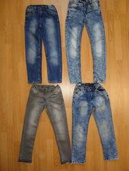 Моднячие повседневные джинсы 122-134р.