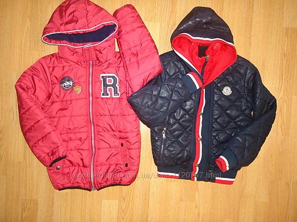 Повседневные стильные демисезонные курточки. 8-10лет.