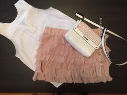 Легкая шифоновая юбка TRF