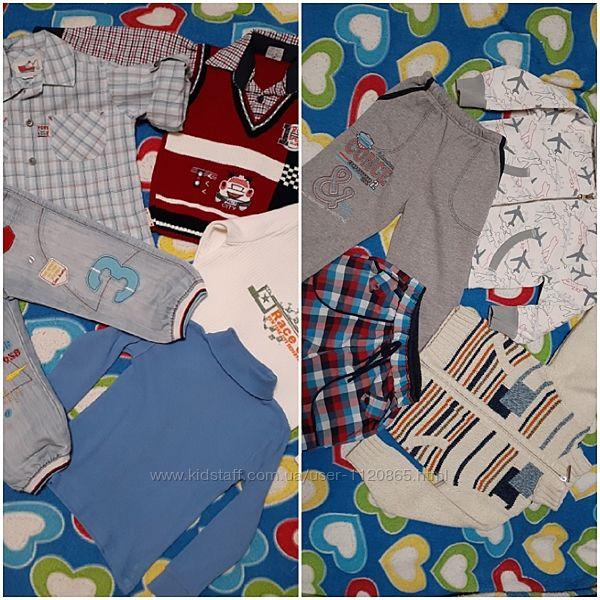 Одежда мальчику джинсы рубашка свитер кофта шорты штаны гольф