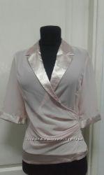 Блуза нарядная. Цвет пудра. Италия. Оригинал