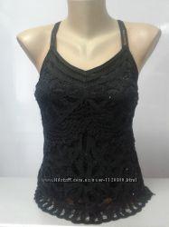 Блуза черная нарядная. Англия