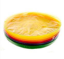 Набор термоустойчивых многоразовых пластиковых тарелок Ernesto.  Германия.
