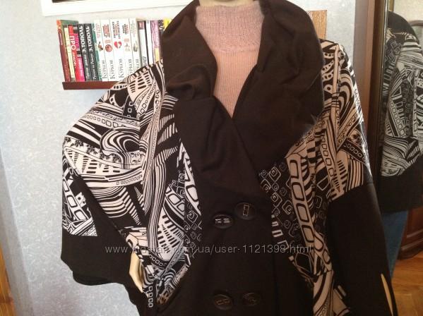 Большой размер, батал, прекрасный кардиган куртка, бренда Gloris, р. 56-5