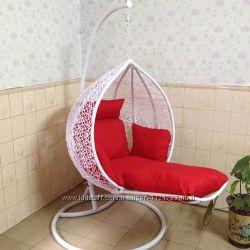 Купить подвесное кресло с подставкой для ног