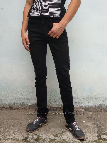 джинсы мужские Red Moon зауженные демисезон черный