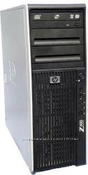 Рабочая станция HP z400  Xeon X5660 8GB ОЗУ250 GB GTX1060 6GB Игровой