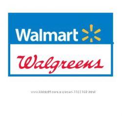 Волмарт  Walmart  и Волгринз Walgreens