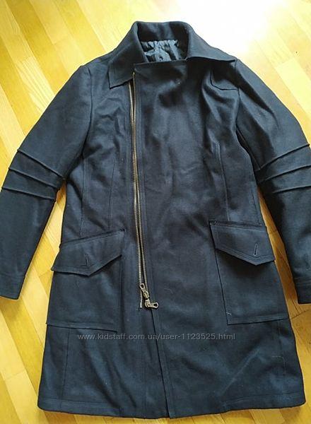 пальто шерсть made in Italy xl