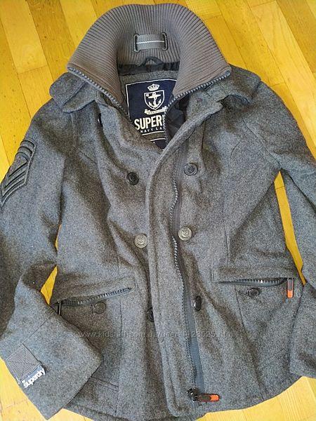 пальто жакет SUPERDRY m