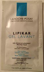 LA ROCHE-POSAY LIPIKAR GEL LAVANT 7 мл. Лавант. Бесплатно акционный пробник