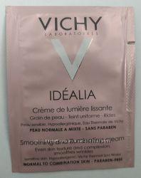 VICHY idealia creme. Виши идеалиа - разглаживающий крем. Акционные пробники