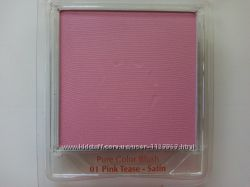 Румяна Estee Lauder Pure Color Blush, цвет 01 Pink Tease-Satin, тестер.