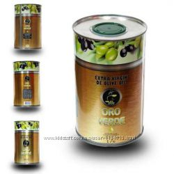 Оливковое масло Oro Verde Extra Virgin De Olive Oil 1л, Испания