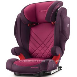 Автокресло RECARO Monza Nova 2 SeatFix Power Berry 2017