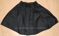 Продам бу чёрную юбку-плиссе Турция для школы