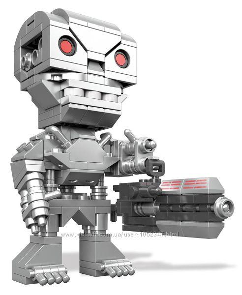 Конструктор 10-16 лет. Mega Construx Kubros Terminator T-800 Оригинал