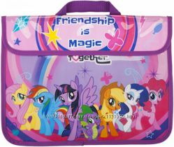 Папка портфель с тканевыми ручками Мой маленький пони My Little Pony