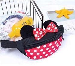 Детская бананка  сумка на пояс с Минни Маус Disney