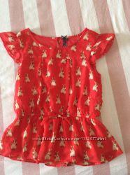 Красивая блуза для девочки Next