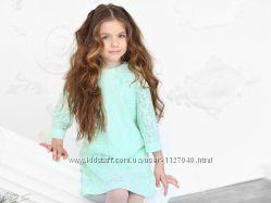 Платье ТМ Mone ментолового цвета. Размер 146