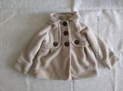 Шикарное пальто демисезон на девочку 2-3 года 98 см next состояние нового