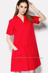 Удобное женское платье из 100 хлопка