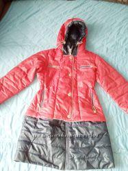 Пальто-куртка на девочку