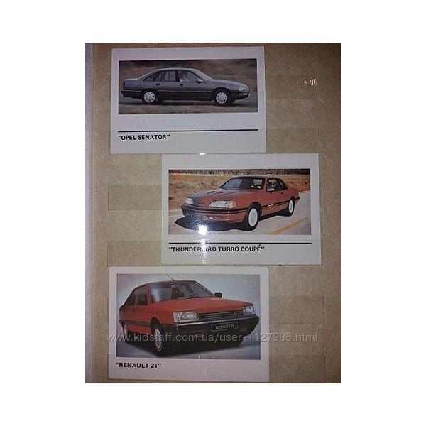 Календарики советские машины марки машин большой выбор
