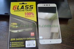 Защитное стекло Xiaomi Redmi Note 5А Full screen белое