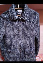 Фирменное модное стильное пальто XS, S