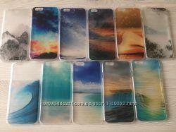 Защитные пластиковые чехлы для iphone 6 6S в 3D В наличии