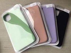 Фирменные Силиконовые чехлы для iphone 11 11pro 11pro max в упаковке