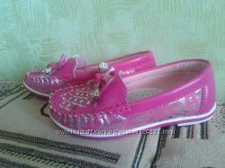 Туфельки -мокасины девочке