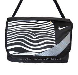 8773d18c Сумка спортивная черная через плечо для ноутбука или планшета Nike ...