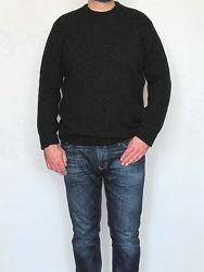 Теплый стильный мужской свитер, джемпер, BNS, 100 шерсть